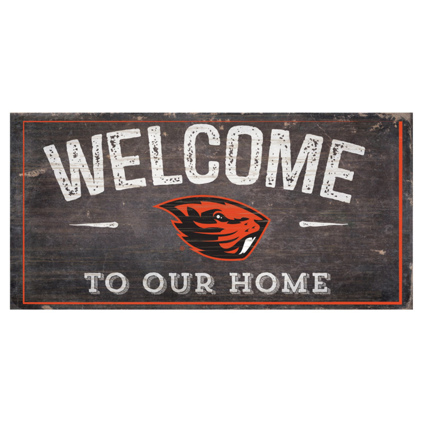 Fan Creations NCAA Welcome To Our Home Sign