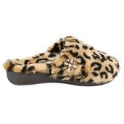 Orthaheel Gemma Luxe Tan Leopard Slippers