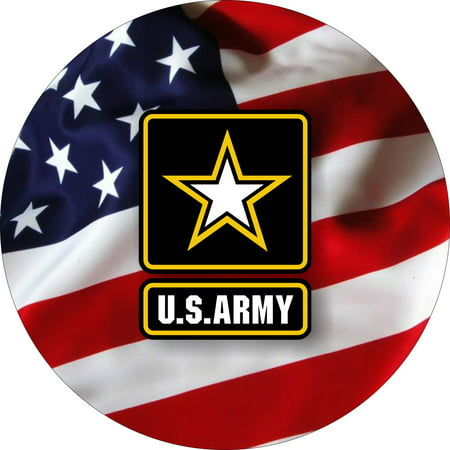 US Army flag Spare Tire Cover