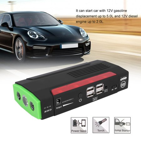 Giants Booster Pack - 68800mAh 12V Car char ger Jump Starter Portable Power Booster Emergency Battery