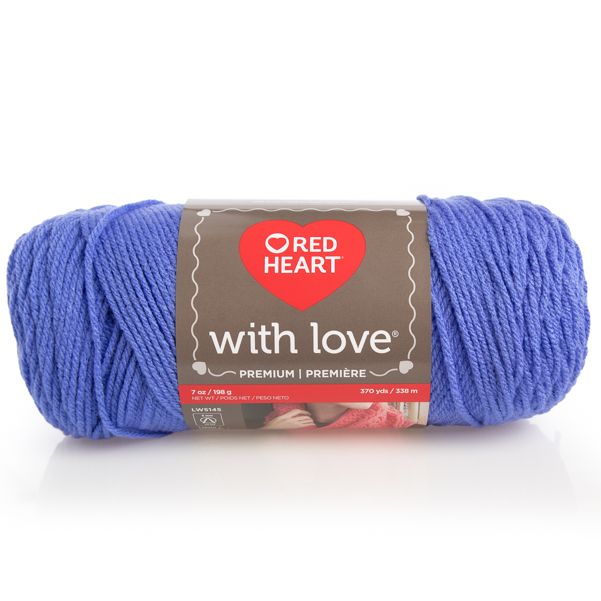 Lot of 3 skeins of Yarn Red Heart with Love Parade 4.5oz
