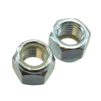"1/4""-28 S.A.E. Zinc Plated Elastic Stop Nuts (Pack of 12)"