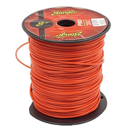 Stinger SPW312RD PRO 12 Gauge Power Wire 500-Feet (Red)