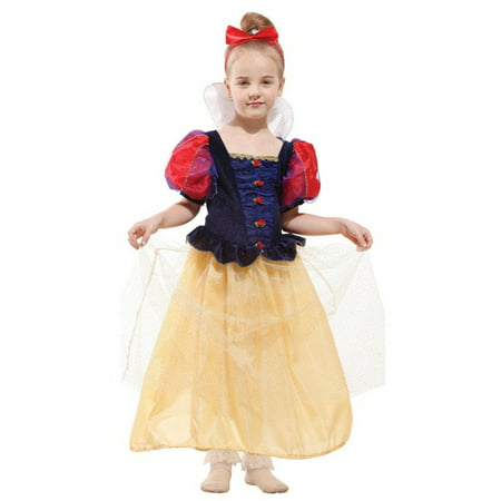 Luxury Girls' Snow Princess Dress-Up Costume Set with Headpiece, (Headpiece Set)