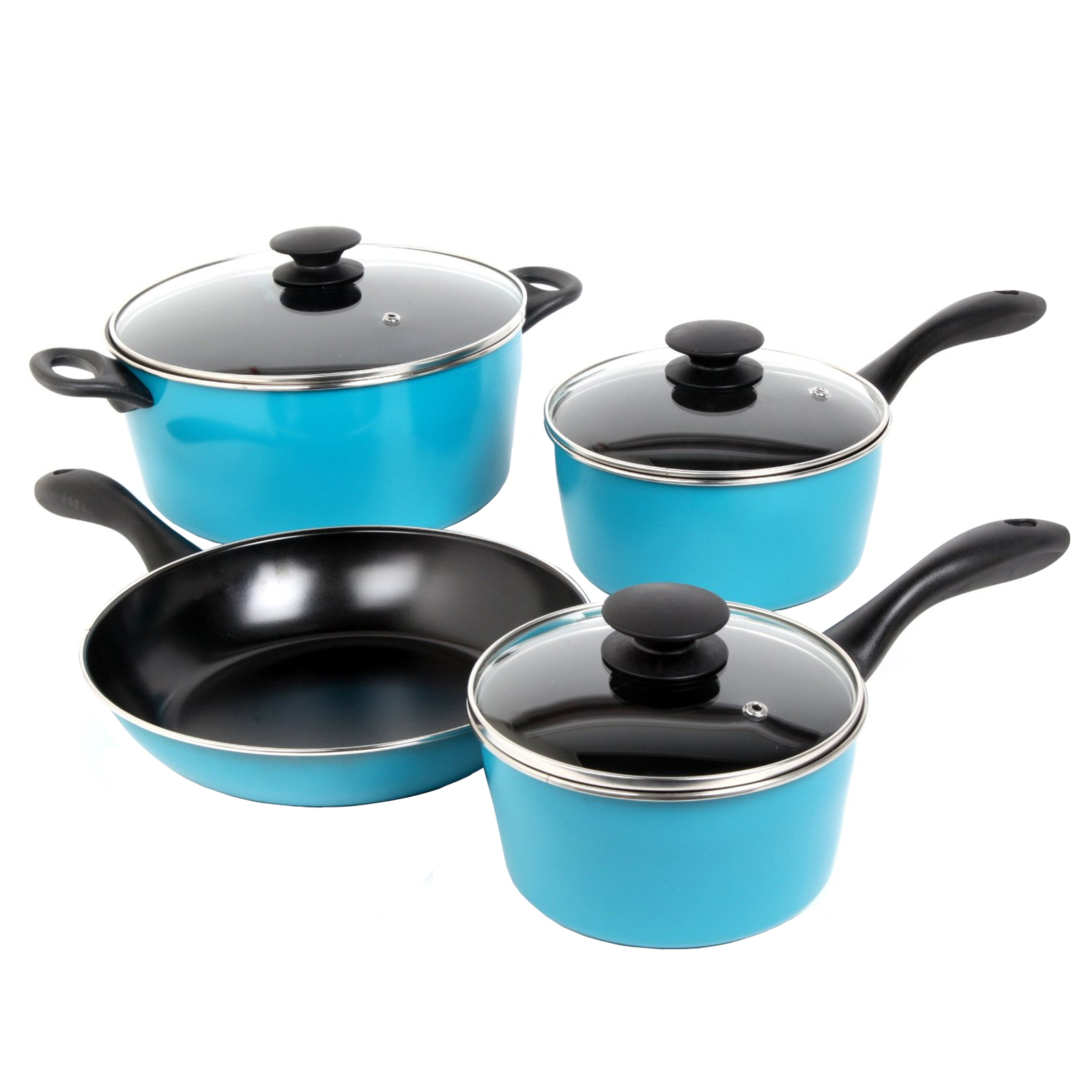 Sunbeam Armington 7-Piece Cookware Set, Teal
