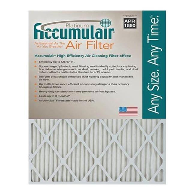 Accumulair FA18X27A 18 x 27 x 1 in. MERV 11 Actual Size Platinum Filter