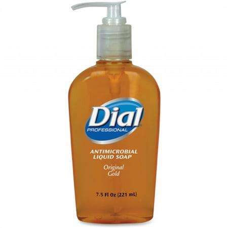 Dial Liquid Soap - 7.5 Fl Oz [221.8 Ml] - Push Pump Dispenser - Antimicrobial, Anti-bacterial - 1 Each (Antibacterial Antimicrobial)