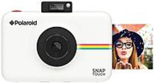"Polaroid SNAP 13 Megapixel Instant Digital Camera White 3.5"" Touchscreen LCD 16:9 Digital (IS) 1920 x... by Polaroid"
