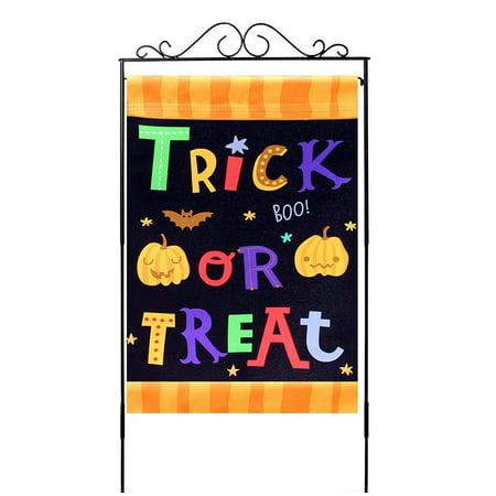 Trick or Treat Halloween Garden Flag – 12