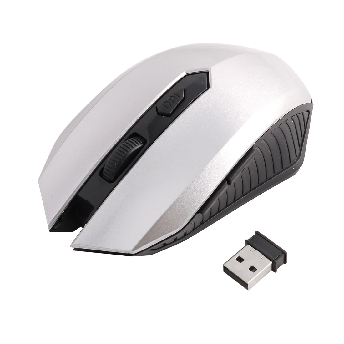 Unique Bargains Computer Playing Games 2.4GHZ USB Receiver Wireless Optical Mouse Mice