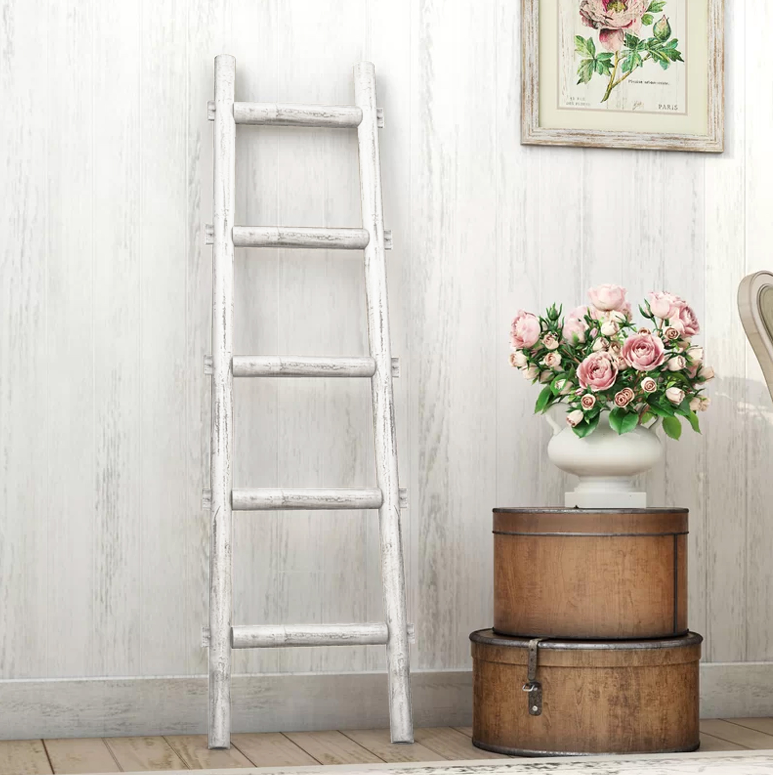 Screen Gems Wooden Ladder