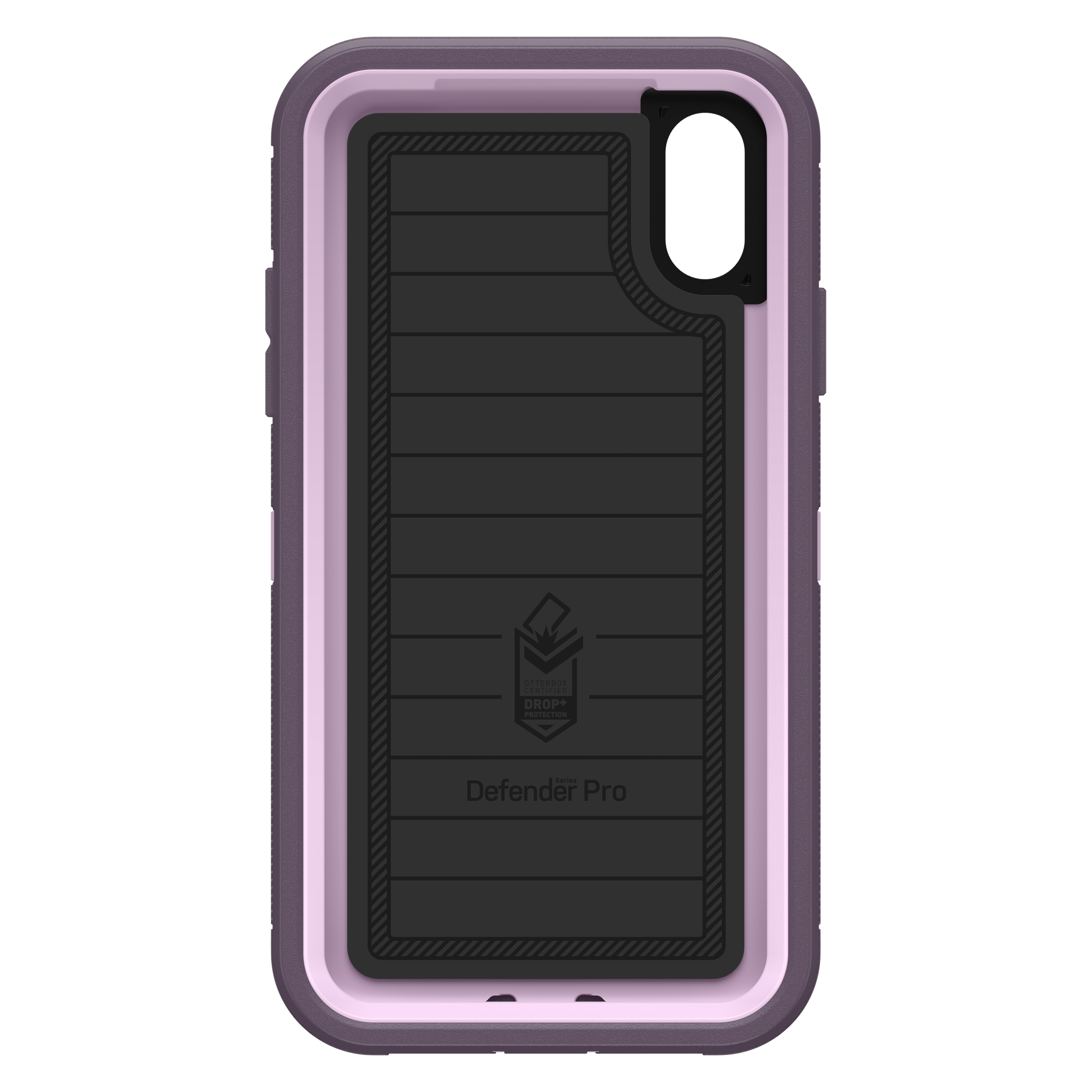 hot sale online 84596 3a297 OtterBox Defender Series Pro Case for iPhone XR, Purple Nebula