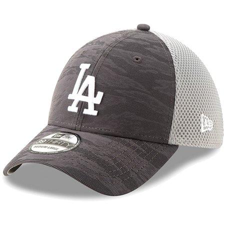 san francisco 8f499 5b89b Los Angeles Dodgers New Era Camo Front 39THIRTY Flex Hat - Charcoal -  Walmart.com