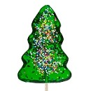 Christmas Tree Shaped Lollipop: 24 Count