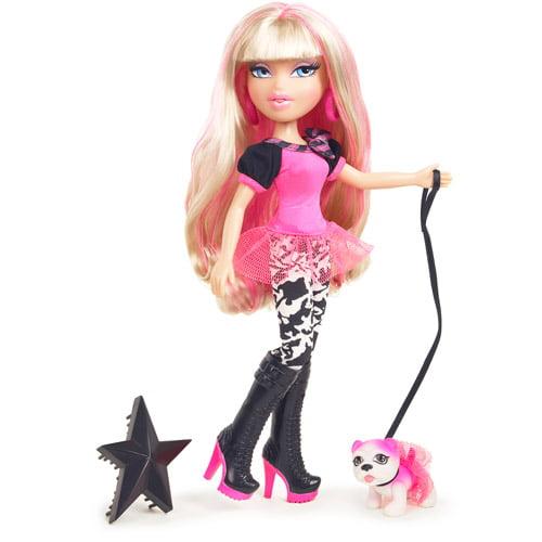Bratz Neon Runway Cloe Doll, Blonde/Pink