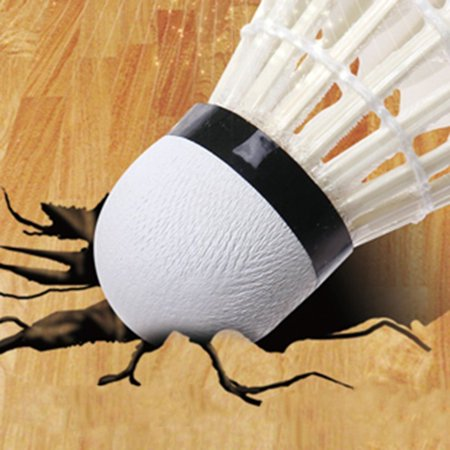 12pcs/set Professional Goose Feather Badminton Competition Gaming Shuttlecock - image 2 of 6
