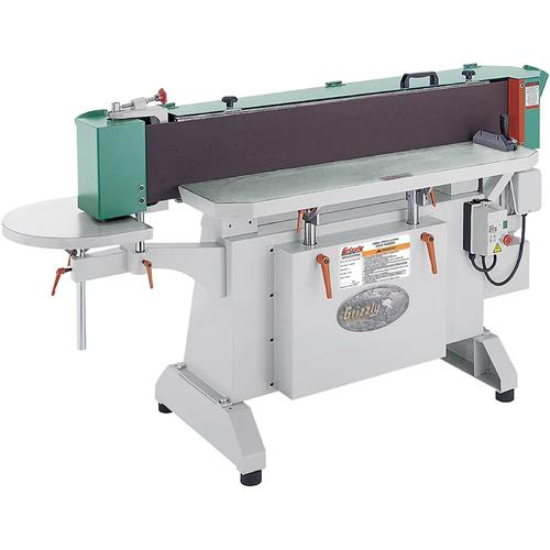 """Grizzly G9985 9"""" x 138-1/2"""" 3-Phase Industrial Oscillating Edge Sander"""