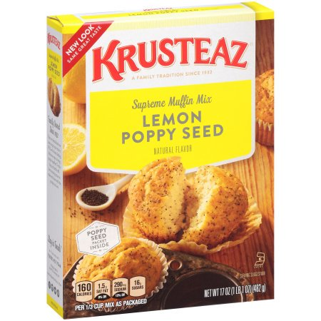 Krusteaz, Lemon Poppyseed Supreme Muffin Mix
