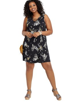 dc630ecf9c3 Product Image Maurices Lattice Neck Swing Dress - Plus Size 24 7 Collection