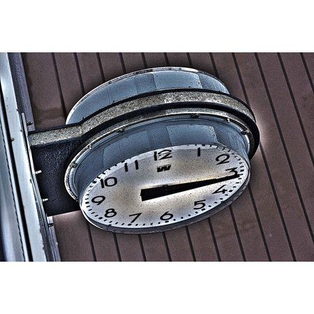 Laminated Poster Watches Hour Clock Hands Time Chimes Alarm Clock Poster Print 11 x 17