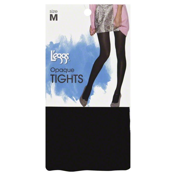 Silky Microfiber Opaque Tight