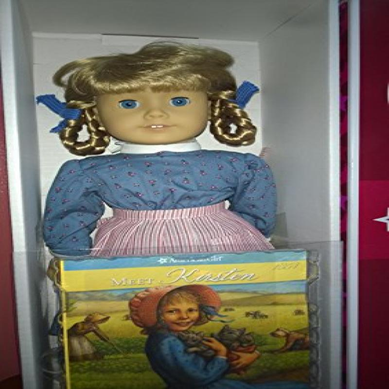 "Mattel American Girl Retired 18"" Kirsten Doll with Softco..."