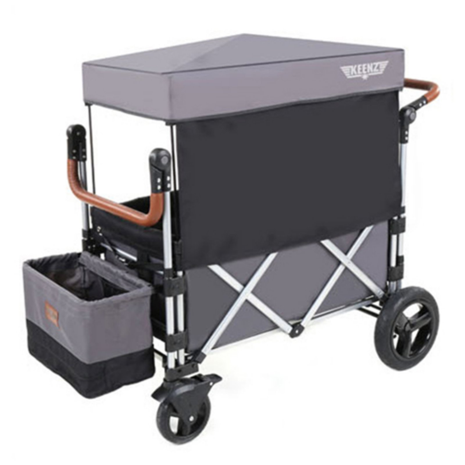 Keenz Original 7 Stroller Wagon Dark Gray - 7-GREY