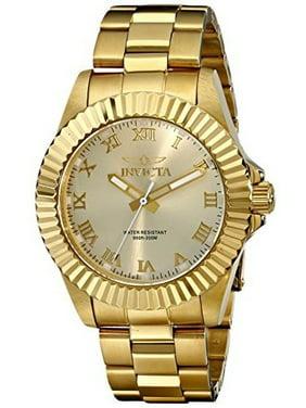 82340c23375 16739 Pro Diver Champagne Dial Gold-tone Roman Numerals Mens Watch. Invicta