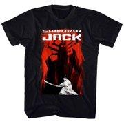 Samurai Jack- To Battle Aku Apparel T-Shirt - Black