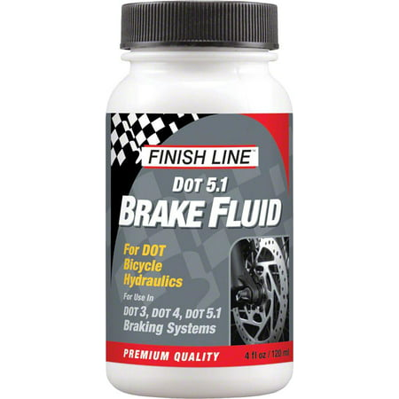 Finish Line Dot 5 1 Brake Fluid  4Oz