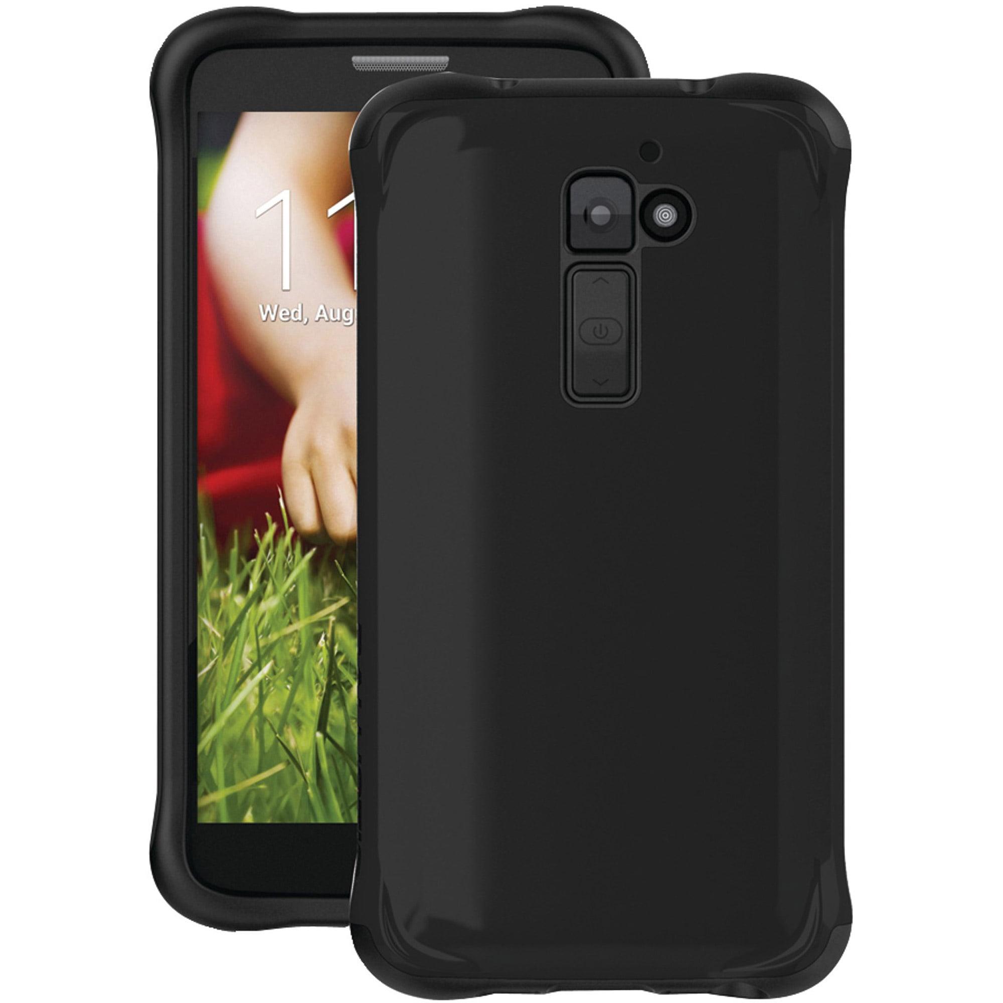 LG G2 Ballistic Case Co. Hard Shell Case Black/Black