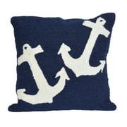 Liora Manne Frontporch Anchor Indoor/Outdoor Pillow
