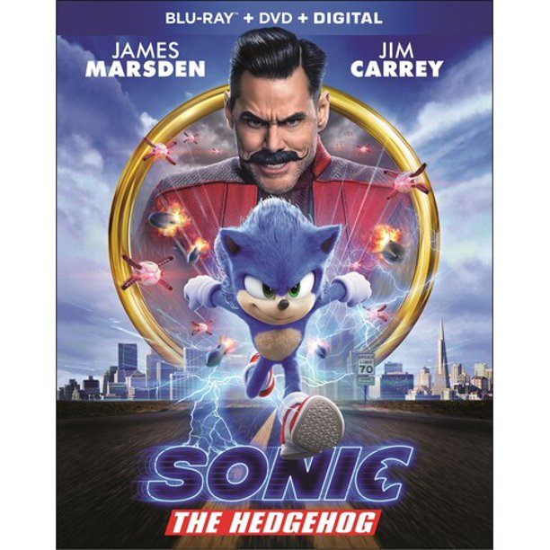 Sonic The Hedgehog Blu Ray Dvd Digital Copy Walmart Com