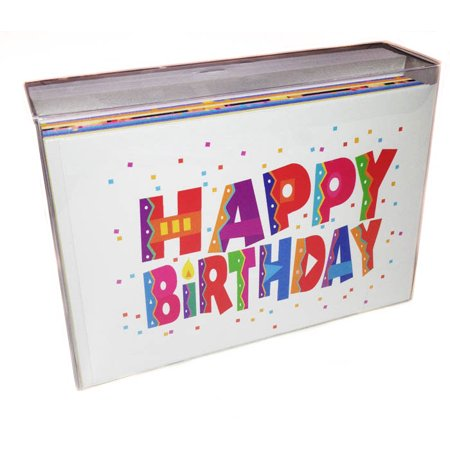 Birthday Card Assorted Value Pack