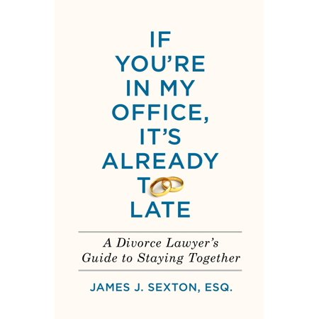 If You're In My Office, It's Already Too Late : A Divorce Lawyer's Guide to Staying (Born Too Late To Explore The Earth)