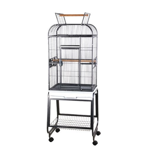 A and E Cage Co. Opening Playtop Bird Cage with Plastic Base by A and E Cage Co LLC