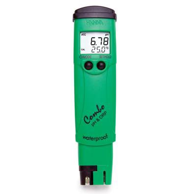 - Hanna HI98121 pH/ORP Combo Pocket Multi-Purpose Meter