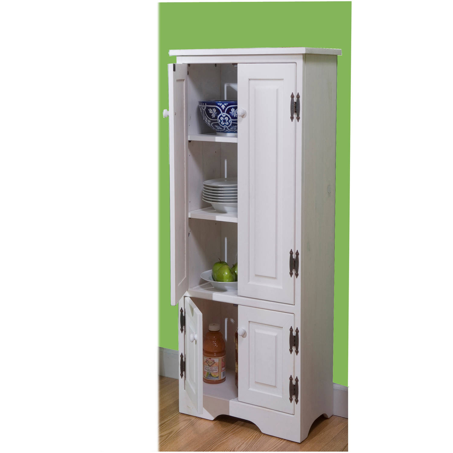Better homes and gardens langley bay 64 storage cabinet for Kitchen cabinet shelves