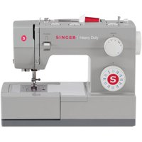 Singer Heavy Duty 4423 Sewing Machine with 23 Built-In Stitches, 60% Stronger Motor & Automatic Needle Threader, Perfect for Sewing all Types of Fabrics with Ease, Even Leather!