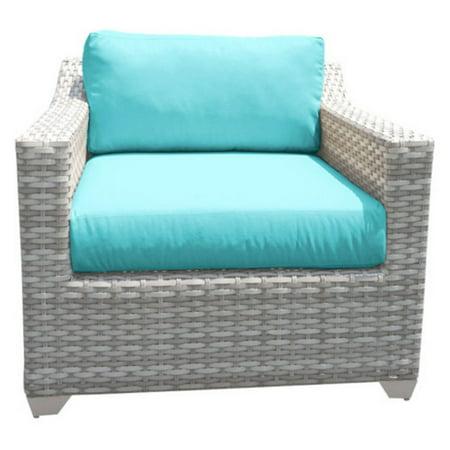 TK Classics Outdoor Wicker Club Chair ()