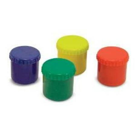 Melissa & Doug Finger Paint Set (4 pcs) - Red, Yellow, Blue, Green - Halloween Finger Paint Ideas