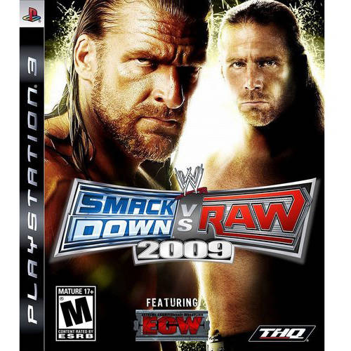 Wwe Smackdown 2009 (ps3) - Pre-owned