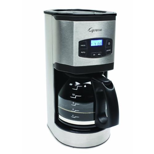 Capresso SG120 12-Cup Stainless Steel Coffee Maker