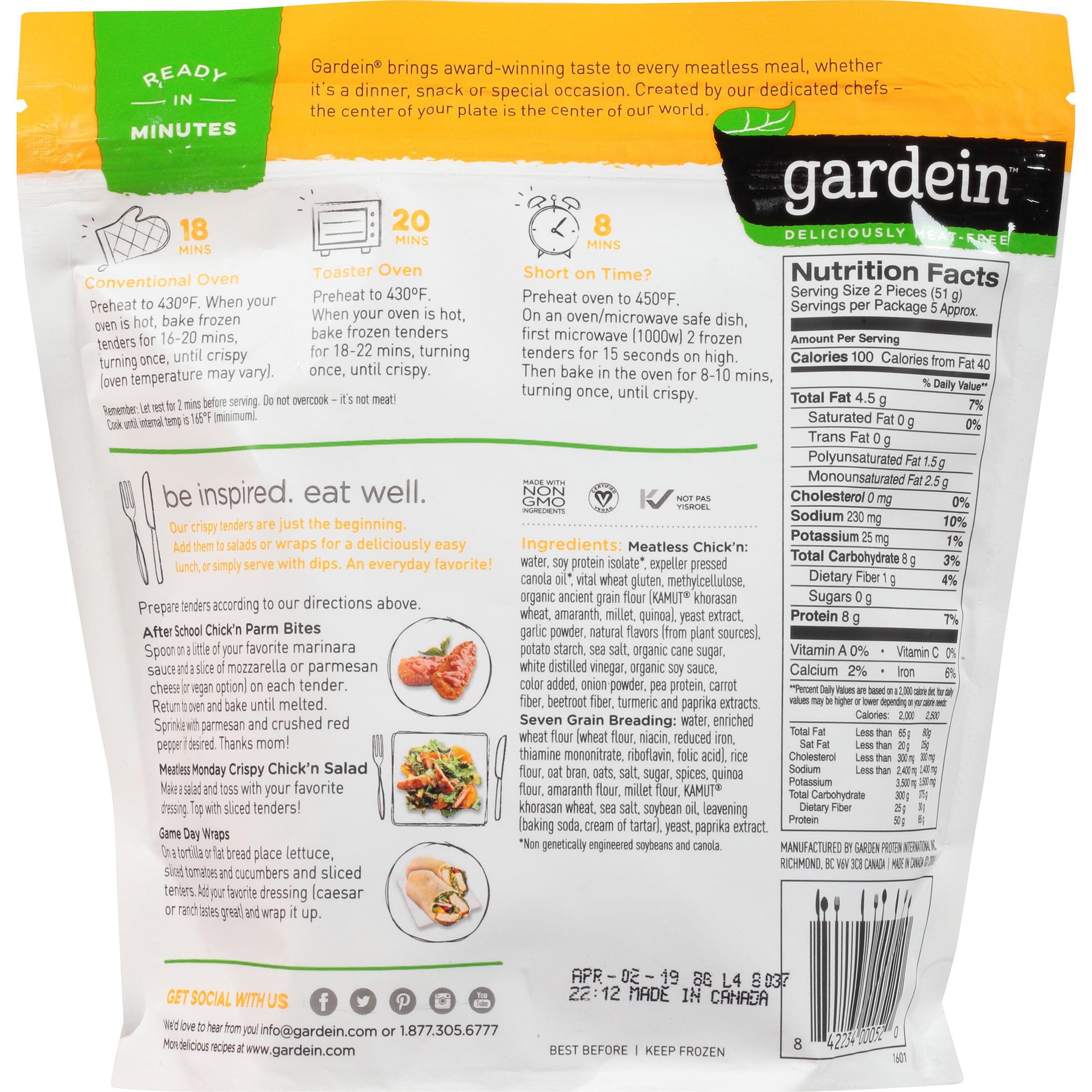 Gardein Seven Grain Crispy Tenders, 9