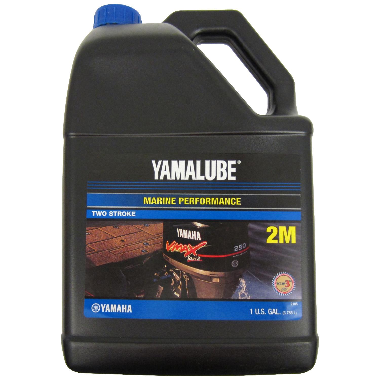 Yamaha Outboard Yamalube 2M MARINE 2 STROKE OIL GALLON TCW-3 LUB