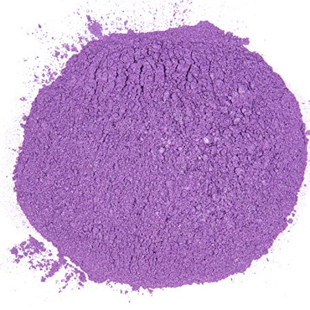 Maddie Rae's Slime Pearl Pigment Powder, World Record Purple Pigment - 6  oz, 168 grams - XL Container Great for Slime or Soap Making