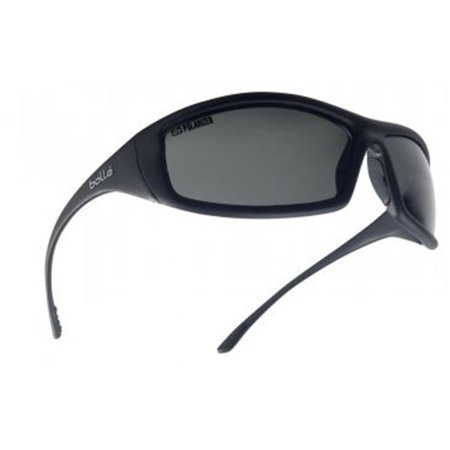 bolle safety 286-40065 solis grey polarized safety shiny, black