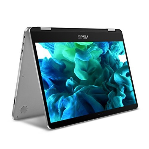 "ASUS VivoBook Flip 14 14"" 2-in-1 Laptop Intel Core m3-7Y30 4GB 64GB eMMC Win10"