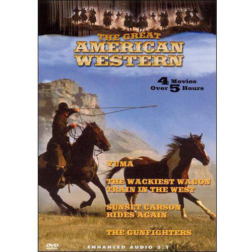 Yuma / The Wackiest Wagon Train In The West / Sunset Carson Rides Again / The Gunfighters