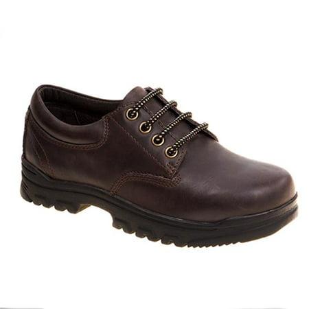 Academie TUFFEX-CW-V 10-3 Eyelet Lace School Shoes, Brown - Wide - Size 12 - image 1 de 1